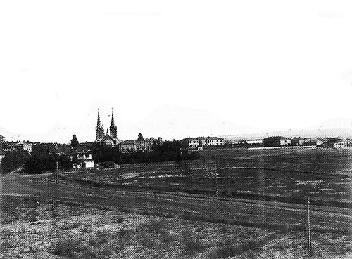 Панорама Камянского в начале XX века