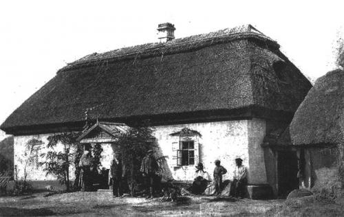 Дом в селе Камянское. Фото XIX в.
