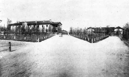 Жилые дома в начале XX века в Камянском