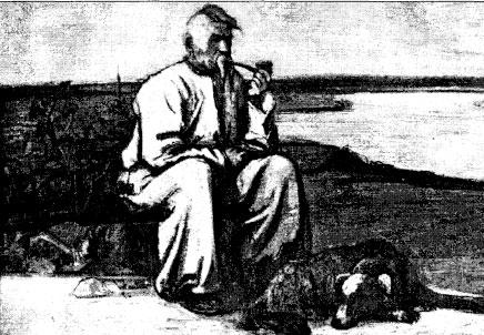 Казак Камион. Худ. Овчинников, 1950-1957 гг. Музей истории Днепродзержинска
