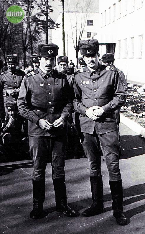 Остер, служба в Советской Армии