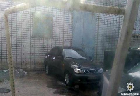 Полицейские в г. Каменское обнаружили угнанный «Daewoo Lanos» Днепродзержинск
