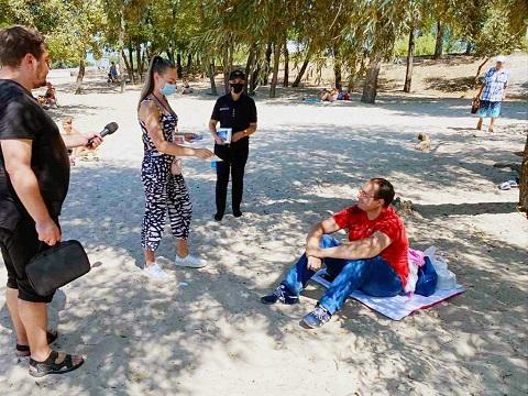 В Каменском по вопросу безопасного отдыха летом провели профилактический рейд  Днепродзержинск