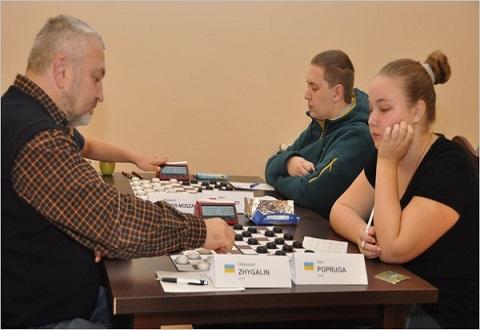 Вера Попруга представила Каменское на турнире по шашкам-100 в Польше Днепродзержинск