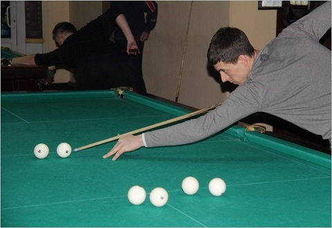 В Каменском  спорт «ДМК» дает старт соревнований по бильярду Днепродзержинск