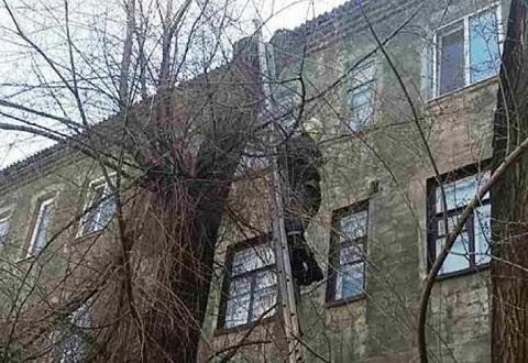 Спасатели г. Каменское  провели спасательную операцию в Заводском районе Днепродзержинск