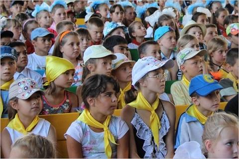 Профсоюз «Металлургов» г. Каменское организовал отдых детей охранной организации Днепродзержинск