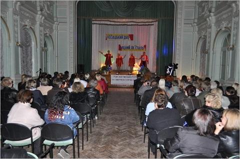 В Каменском провели фестиваль художественной самодеятельности «Козацький дух – міцний, як сталь!» Днепродзержинск