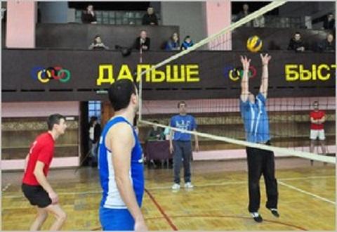 Волейболисты «ДМК» Каменского провели последние игры группового этапа спартакиады Днепродзержинск