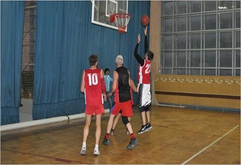 Баскетбольные баталии спартакиады «Здоровье» г. Каменское Днепродзержинск