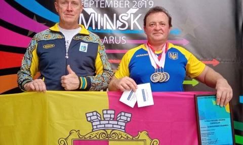 За спортивные достижения спортсменка из г. Каменское награждена нагрудным знаком Днепродзержинск