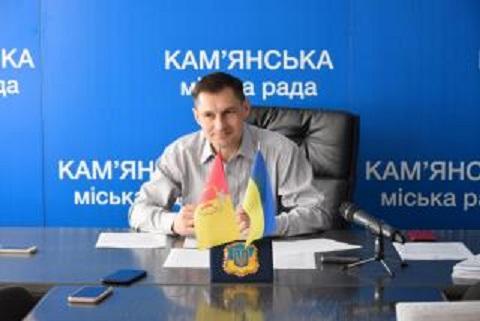 Традиционный брифинг провел перед сессией секретарь горсовета г. Каменское Днепродзержинск