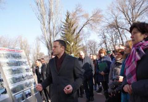 В Каменском по реконструкции городского парка провели выездное совещание Днепродзержинск