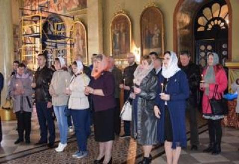 Память погибших на производстве в Каменском почтили на панихиде Днепродзержинск