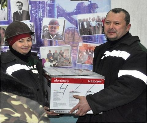 На «ДМК» г. Каменское награждали сотрудников агломерационного цеха №2 Днепродзержинск