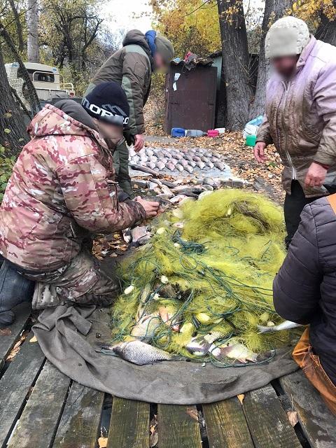 В акватории  Каменского водохранилища задержали браконьера Днепродзержинск