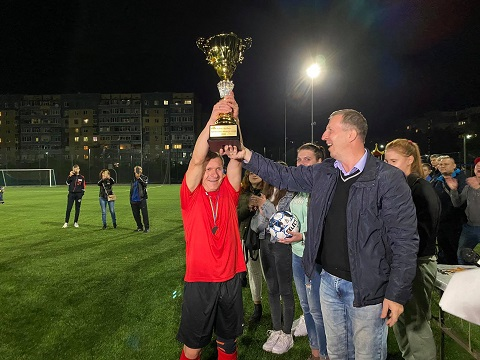 В Каменском вручили Кубок городского головы по футболу Днепродзержинск