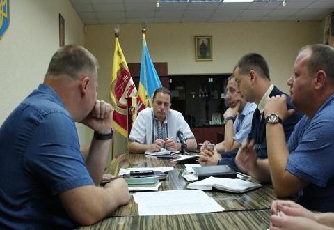Вопросы утилизации негабаритных отходов решали на совещании в Каменском Днепродзержинск