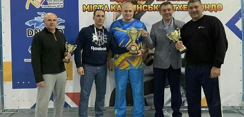В г. Каменское провели чемпионат по тхэквондо Днепродзержинск