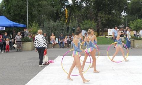 В Каменском прошел фестиваль выходного дня «Я выбираю спорт!» Днепродзержинск