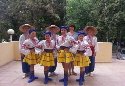 Каменский хореографический коллектив «Словяночка» победил на фестивале «Золотой грааль» Днепродзержинск