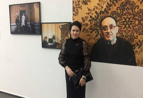 Каменский ЦПАУ представил на фотовыставке в столице «Мобильный офис» Днепродзержинск