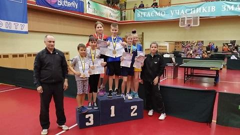 На чемпионате области спортсмены г. Каменское вошли в число призёров Днепродзержинск