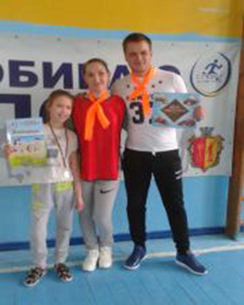Каменчане стали участниками соревнований спортивных семей Днепродзержинск