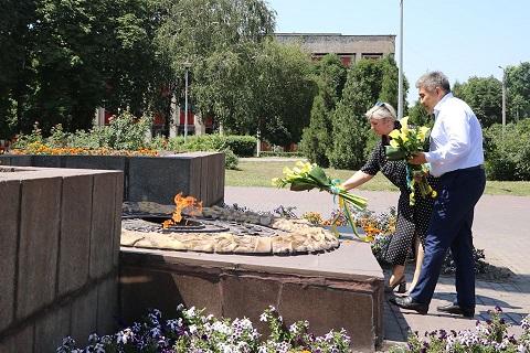 Меткомбинат г. Каменское посетил посол республики Казахстан  Днепродзержинск