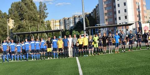 В г. Каменское стартовал чемпионат города по футболу  Днепродзержинск