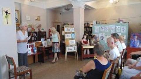 Каменчане провели творческую встречу Днепродзержинск