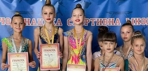 В Каменском провели чемпионат города по художественной гимнастике Днепродзержинск