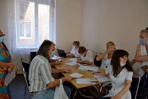 В г. Каменское начинает работу Центр массовой вакцинации от COVID-19 Днепродзержинск