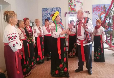 Для жителей Днепровского района Каменского провели рождественский концерт Днепродзержинск