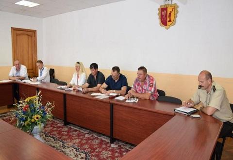 В Каменском на заседании комиссии говорили о ликвидации стихийных свалок Днепродзержинск