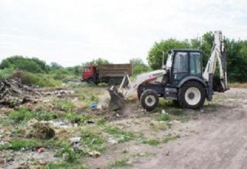 За текущий год в Каменском ликвидировали 193 стихийные свалки Днепродзержинск