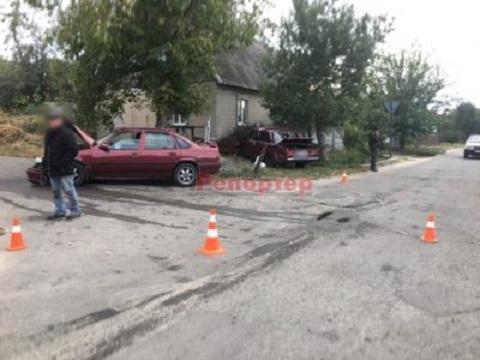 В Каменском на территории Романково произошло ДТП Днепродзержинск