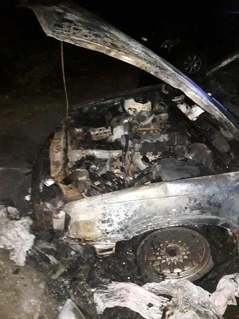 Ночью в Каменском горели два автомобиля Днепродзержинск