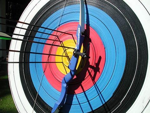 Каменские мастера стрельбы из лука провели открытые соревнования Днепродзержинск