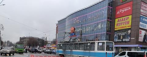 В центре г. Каменское  в результате ДТП было приостановлено движение электротранспорта Днепродзержинск