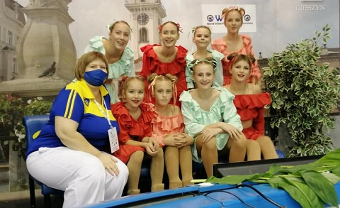Каменчанки успешно выступили на Кубке мира Днепродзержинск
