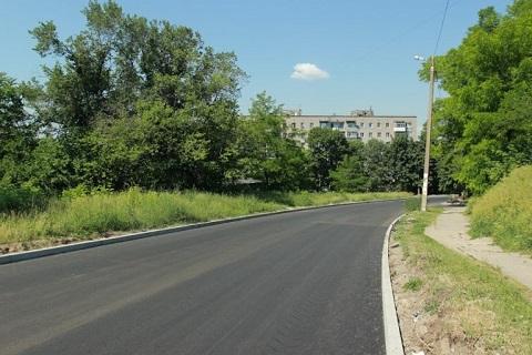В Каменском завершили капремонт по ул. Циолковского Днепродзержинск