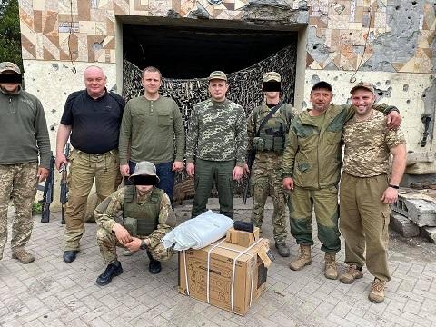 Мэр г. Каменское побывал в зоне ООС  Днепродзержинск