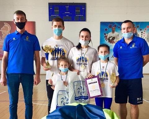 Каменская семья стала самой спортивной в области  Днепродзержинск