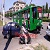 В Каменском легковое авто пыталось атаковать трамвай