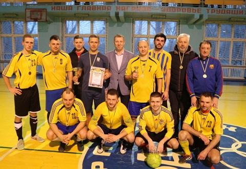 Команда «МКС» победила в чемпионате г. Каменское по мини-футболу  Днепродзержинск