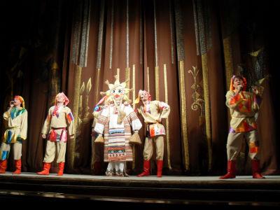 Встречаем масленицу вместе с театром Днепродзержинск