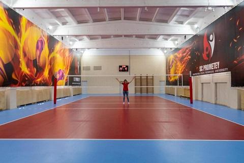 В Каменском завершили реконструкцию зала для Академии «Прометей»  Днепродзержинск