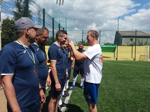 В Каменском провели Кубок корпорации по футболу  Днепродзержинск