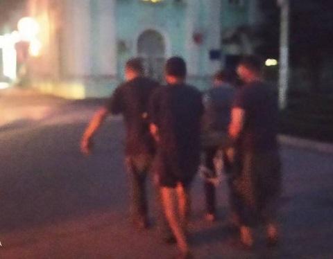 В г. Каменское были задержаны «металлисты»  Днепродзержинск